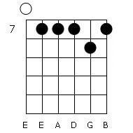 как настроить 6 струнную гитару флажолет